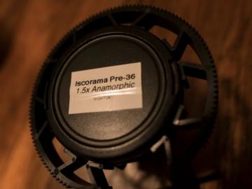 Iscorama 1.5x Anamorphic Lens