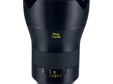 Rent: Zeiss Otus 28mm f/1.4 ZE