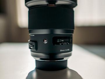 Rent: SIGMA 20mm / f1.4 ART Lens