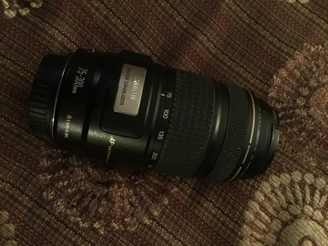 Rent: Canon 75-300 lens in Southbay