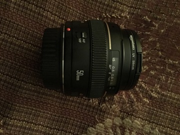 Rent: Canon EF 1.4 fixed 50mm in Southbay