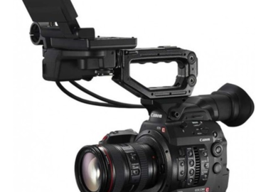 Rent: (x2) Canon C300mk2's & (x3) L series lenses