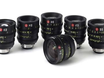 Leica Summicron-C Prime Set PL MOUNT