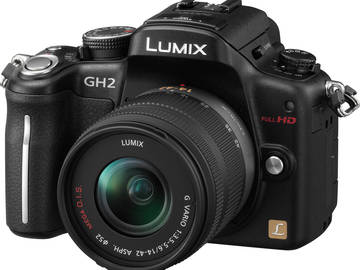 Rent: Panasonic Gh2 w/ kit lens (Panasonic Lumix G Vario 14-42mm)
