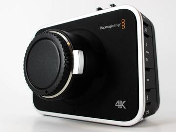 Rent: Blackmagic Production Camera 4K, EF Fit