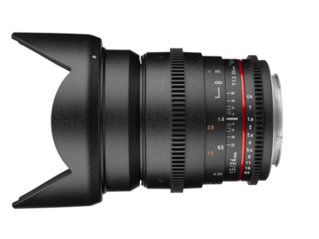 Rent: Rokinon 24mm & 50mm Cine DS T1.5 for Canon EF