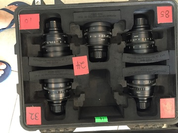Rent: Ziess Ultra Prime Lens(T1.9 16,24,32,50,85mm)