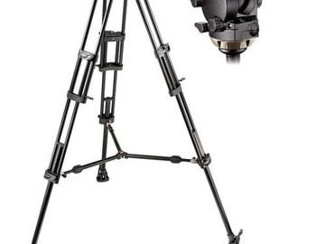 Rent: Manfrotto 526 Head, 545 Legs Video Tripod System