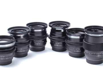 Rent: DUCLOS ZEISS LENS SET 25,28,50,85