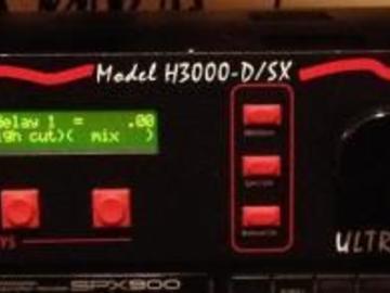 Rent: Eventide H3000 D/SX Ultra Harmonizer