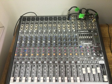 Rent: Mackie ProFX16 Compact 4-Bus Mixer with USB & Effects