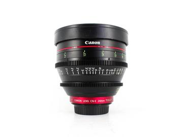 Rent: Canon CN-E 24mm T1.5, Canon EF Fit