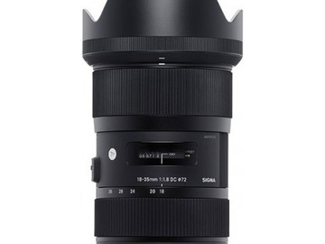Rent: Sigma 18-35mm f/1.8 for Canon