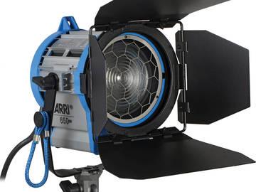 2 - Arri 650w Plus Fresnel (2 units)