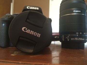 Rent: Canon Rebel T3i Package W/55-250mm lens