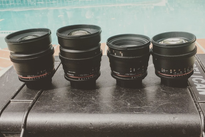 Rokinon 4 lenses