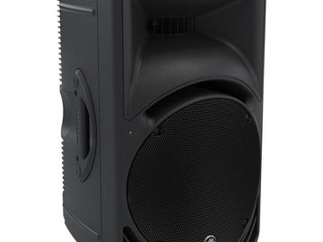 "Rent: (2) Mackie SRM450 - 1000W 12"" Portable Powered Loudspeakers"