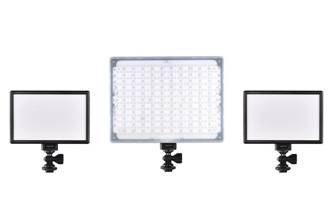 3 light LED kit - all Bi-Color NPF battery powered