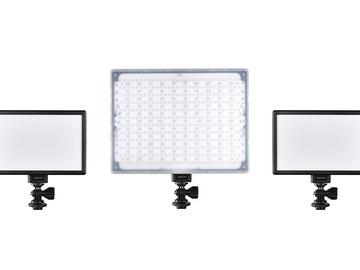 Rent: 3 light LED kit - all Bi-Color NPF battery powered