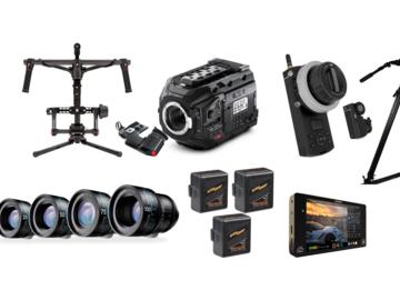 Rent: URSA MINI PRO // Schinder Xenon 5 Lens // RONIN //