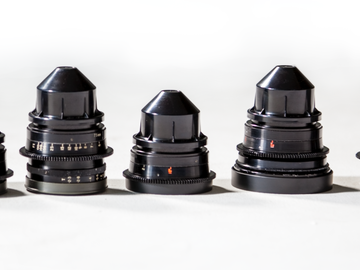 Rent: Cooke Speed Panchro Lenses (18, 25, 32, 50, 75)