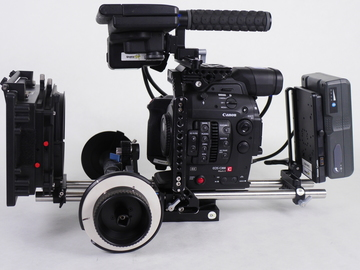 Rent: Canon C300 Mark II Pro Package: