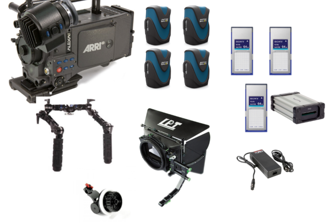 Alexa Classic w/ High Speed License Camera Package