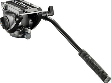 Rent: Manfrotto MVH500AH Fluid Video Head with legs