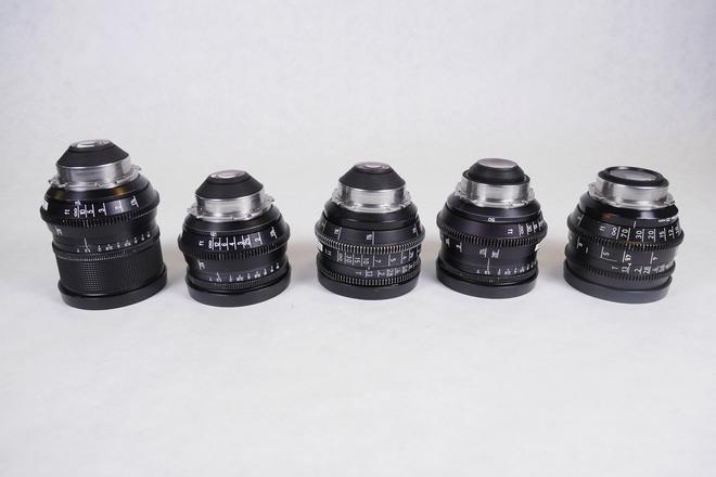 Zeiss Super Speed Lens Set T1.3