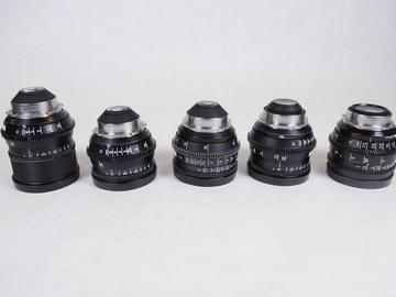 Rent: Zeiss Super Speed Lens Set T1.3