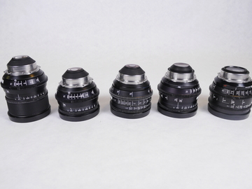Zeiss Super Speed Lens Set T1.3