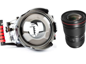 Rent: Ikelite Housing for 5DMark IV/Mark III/ +Canon 16-35+ Dome