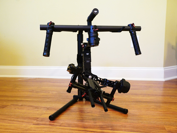 Rent: DJI Ronin with DJI Focus Motor & Thumbwheel