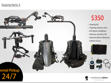 Rent: Easy Rig Vario 5 Kit With DJI Ronin 3-Axis Gimbal