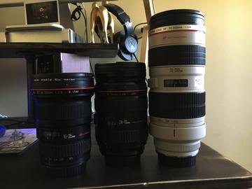 Rent: Canon L Series f/2.8 Kit 16-35, 24-70, 70-200.
