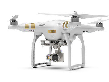 Rent: DJI Phantom 3 Professional Drone w/ Extra Batteries