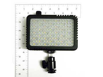 Rent: Visio Bi-Color LED On-Camera Light w/ Cold Shoe Mount
