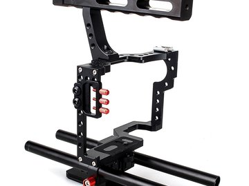 Rent: Cage for A7sii and rods