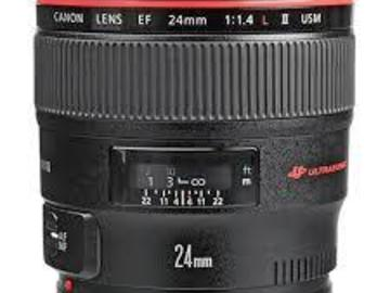 Rent: Canon 24mm F/1.4