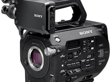 Rent: Sony FS7, Shape Ext, 4 64GB, MSB E-EF, & 24-105