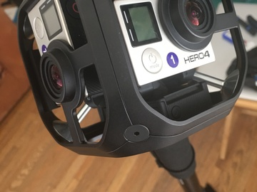 Rent: GoPro Omni with 6 Hero 4 Black cameras
