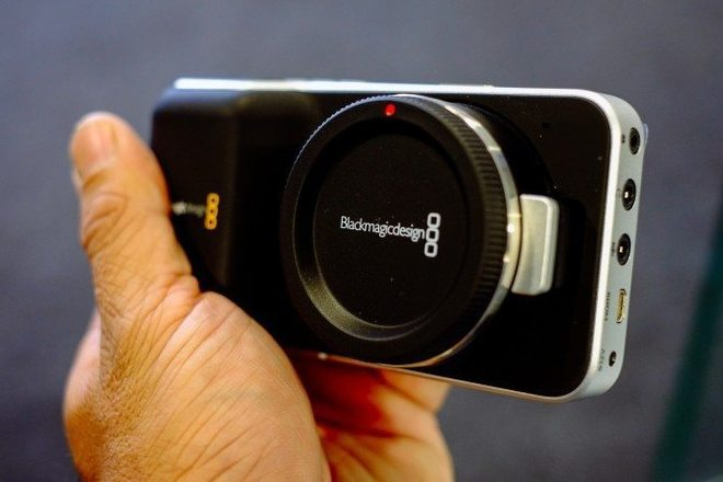 Black Magic Pocket Cinema Camera w/ Cage + Extra Batteries