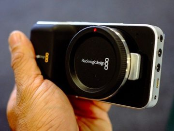 Rent: Black Magic Pocket Cinema Camera w/ Cage + Extra Batteries