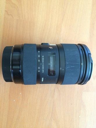 Sigma Art 18-35mm f/1.8 EF mount