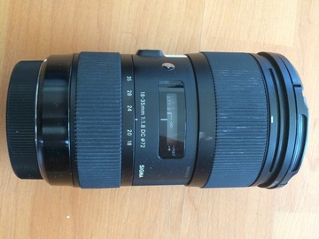 Rent: Sigma Art 18-35mm f/1.8 EF mount