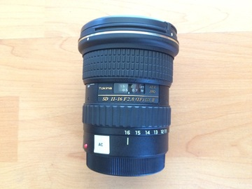 Rent: Tokina 11-16mm f/2.8 DXII EF mount