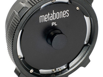 Rent: Metabones PL to E-Mount Adapter