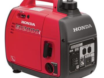 Rent: Honda EU2000i 2000W Generator