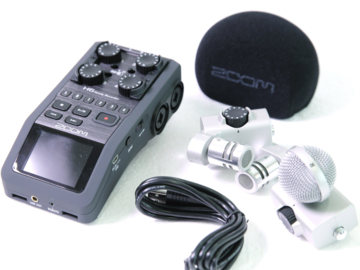 Rent: Audio Kit: Rode Mic, Zoom H6 , Sennheiser Wireless Mics