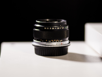 Rent: Olympus 50mm F/1.4 OM Zuiko Auto-S